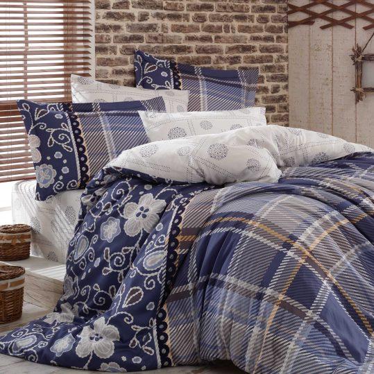 Купить Monica синий Exclusive Sateen Hobby постельное белье