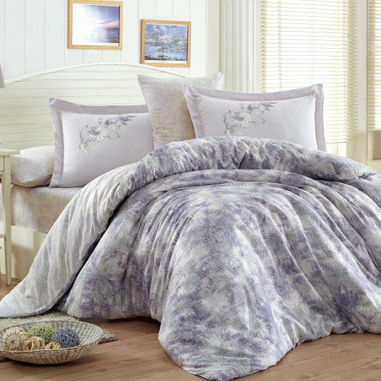 Купить Romina фиолетовый Exclusive Sateen Hobby постельное белье