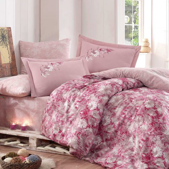 Купить Romina розовый Exclusive Sateen Hobby постельное белье