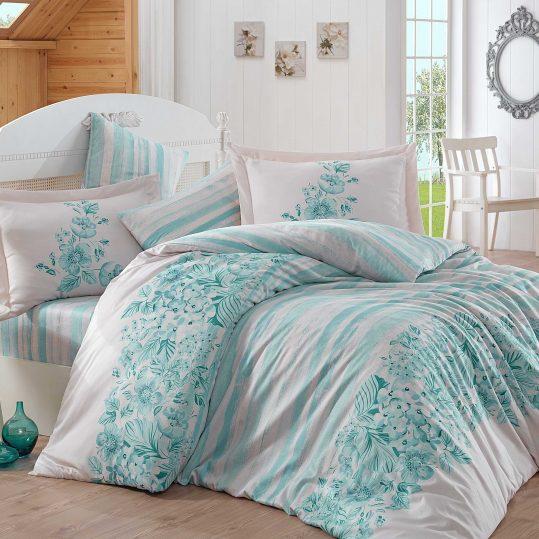 Купить Serena бирюзовый Exclusive Sateen Hobby постельное белье