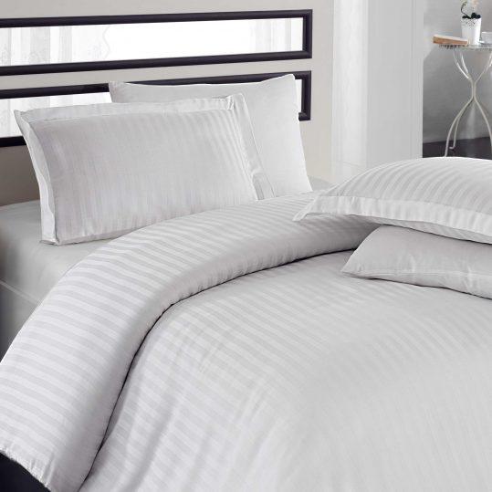 Купить Stripe белый Bamboo Diamond Hobby постельное белье