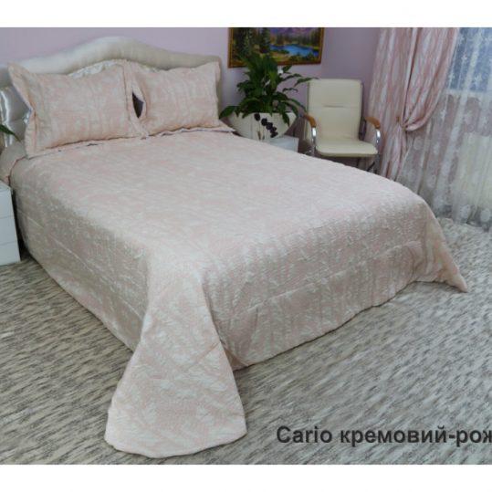 Купить Cario кремовый-розовый Arya покрывало