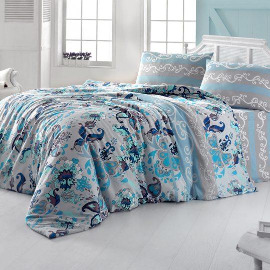 Купить FLOWER голубой LightHouse постельное белье