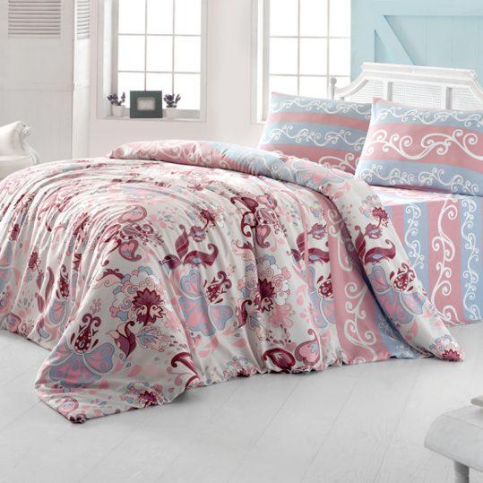 Купить FLOWER розовый LightHouse постельное белье