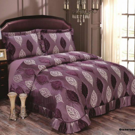 Купить Maura фиолетовый Arya покрывало