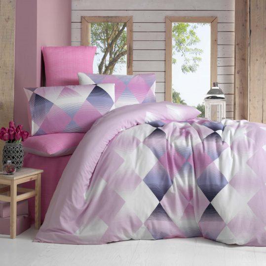 Купить PETEK розовый LightHouse постельное белье