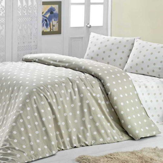 Купить ROUND бежевый LightHouse постельное белье