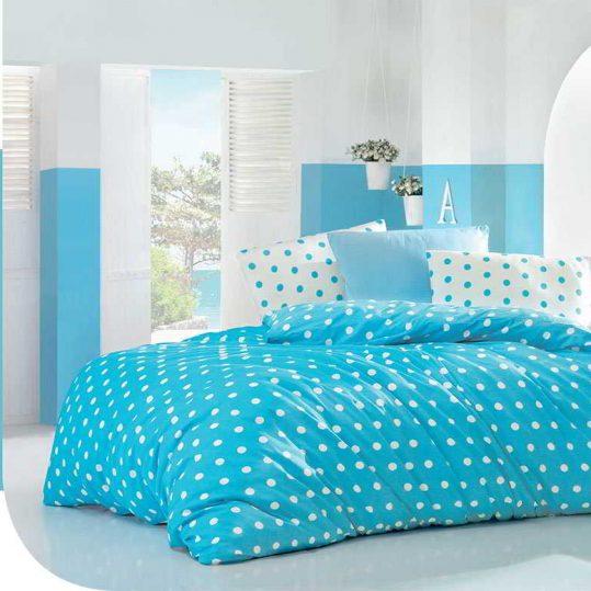 Купить ROUND бирюзовый LightHouse постельное белье