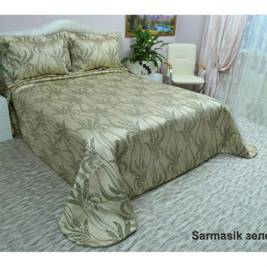 Купить Sarmasik зеленый Arya покрывало
