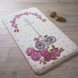 Купить Vintage Bike D. Pembe Confetti коврик для ванной
