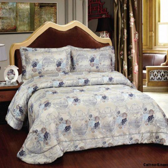 Купить Violetta голубой Arya покрывало
