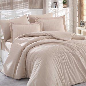 Купить Бежевый Stripe Exclusive Sateen Diamond Hobby постельное белье