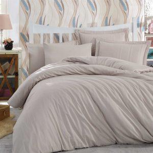Купить Капуччино Stripe Exclusive Sateen Diamond Hobby постельное белье