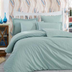 Купить Мята Stripe Exclusive Sateen Diamond Hobby постельное белье